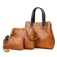 HOT Ladies' handbag leather newest handbags