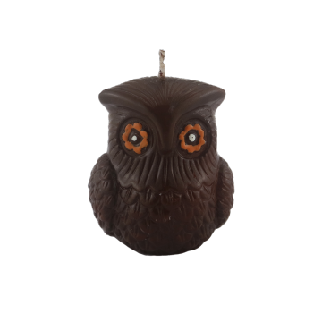 Owl shape party candle