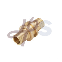brass pex straight coupling
