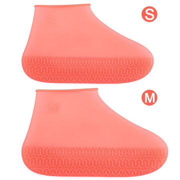 Silicone Shoe Cover Waterproof For Washable Walking Reusable Non-slip