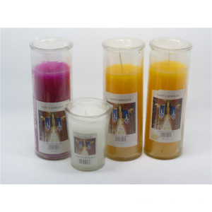 Custom Luxury Scented Wax Candles with Decorative Jar