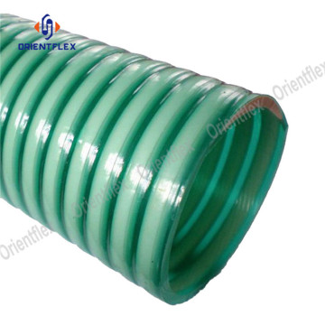 Bendy ozone resistant pvc high pressure suction hose