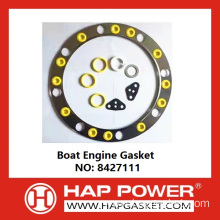 OEM manufacturer custom for Generator Head Gasket Boat Engine Gasket 8427111 export to Uzbekistan Importers