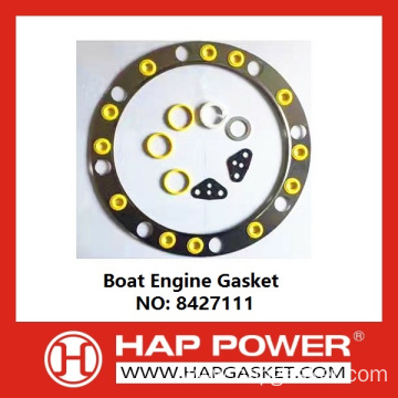 Factory made hot-sale for China Head Gasket,Metal Head Gasket,Cylinder Head Gasket,Engine Head Gasket,Tractor Head Gasket Manufacturer Boat Engine Gasket 8427111 export to Yugoslavia Importers