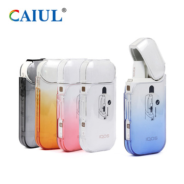 Gradient Colors PC Case IQOS Electronic Cigarette