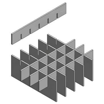heavy duty pressed grating