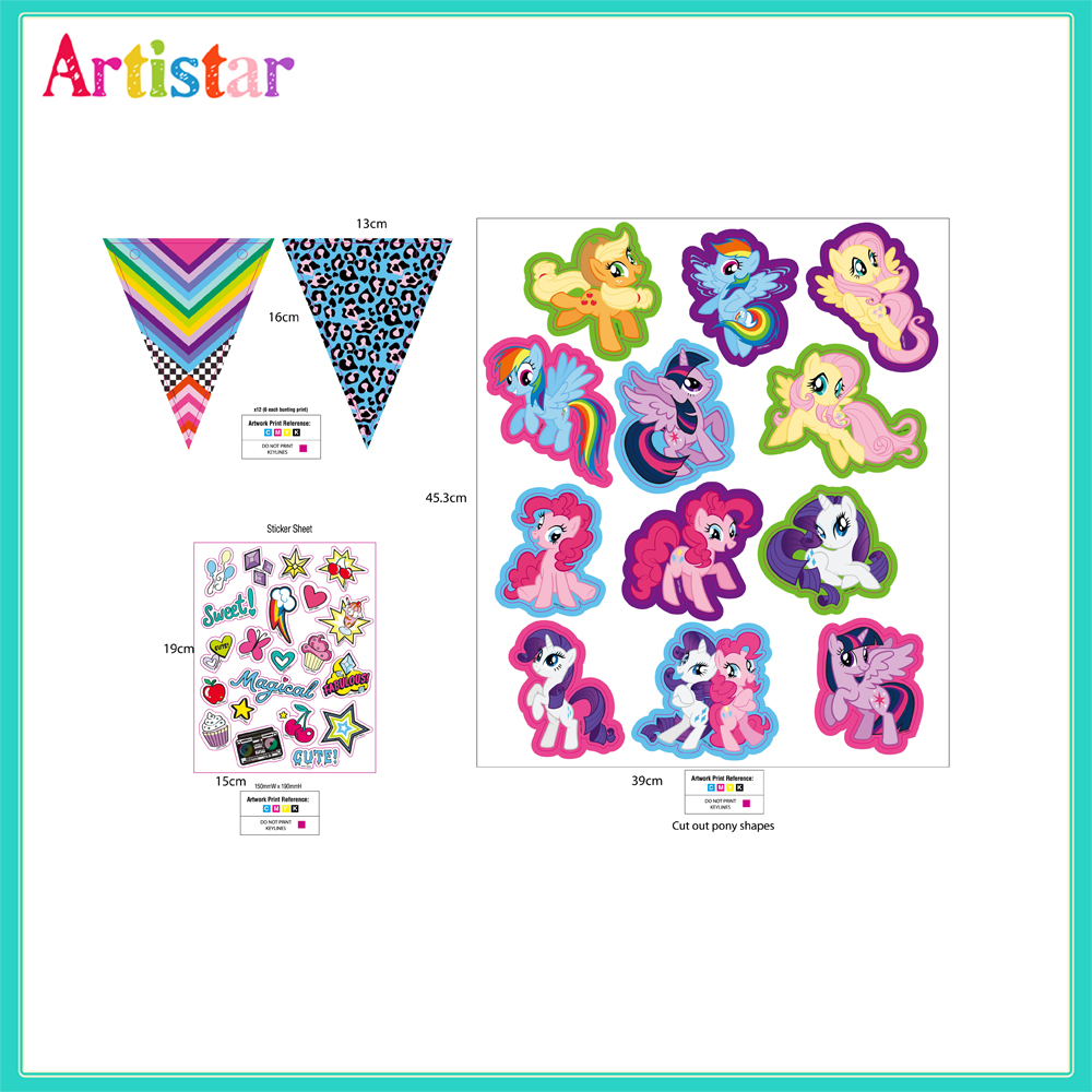 My Little Pony Create Your Own Craft Set 2