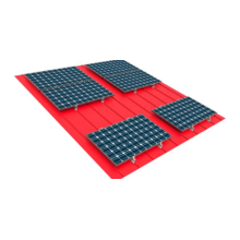 Customized for Ground Solar Mounting Support No Purline Type Color Steel Tile PV Bracket export to Mayotte Supplier