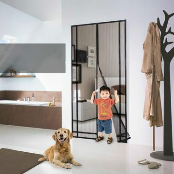 mosquito net magnetic door screen curtains