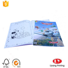 Softcover children coloring book printing