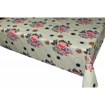 Elegant Tablecloth with Non woven backing Party City