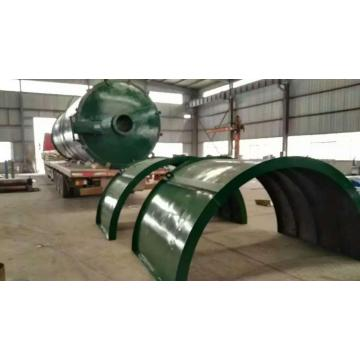 auomatic discharging waste tyre pyrolysis machine
