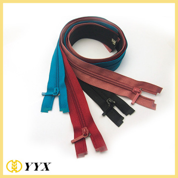Nylon Open End Plastic Bottom Stop Zippers