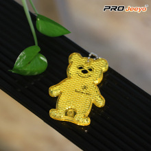 Reflective Safety Bear Cartoon Keychain