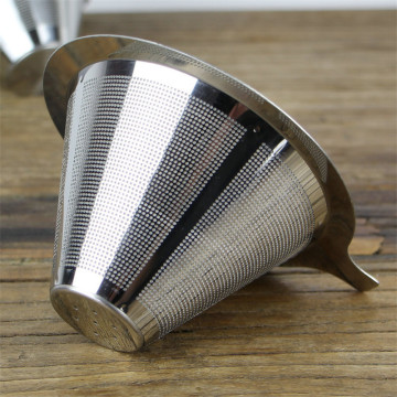 4 Cups Fine Stainless Steel Coffee Filter