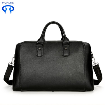 Casual single shoulder portable pu travel bag