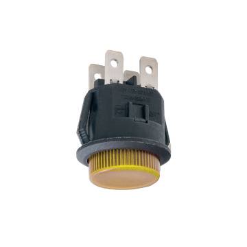 UL High Current Momentary LED Push Button Switch