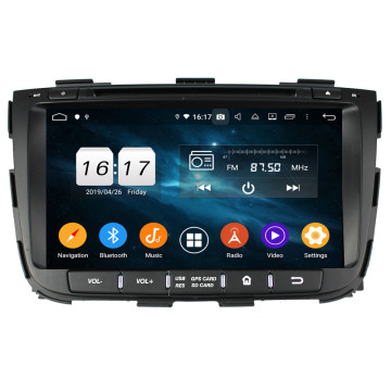 SORENTO २०१ - - २०१ Head Headunit Android GPS ब्लुटुथ