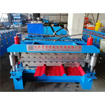 Double Layer Metal Sheet Tile Making Machine