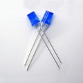Ultra Bright Blue 5mm Flat Top Concave LED
