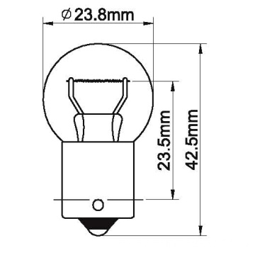 Lamps for Park tail&number Plate Light/A23S