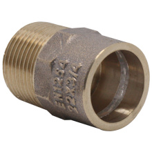 Solder Ring Gunmetal Bronze Male Adapter Fittings
