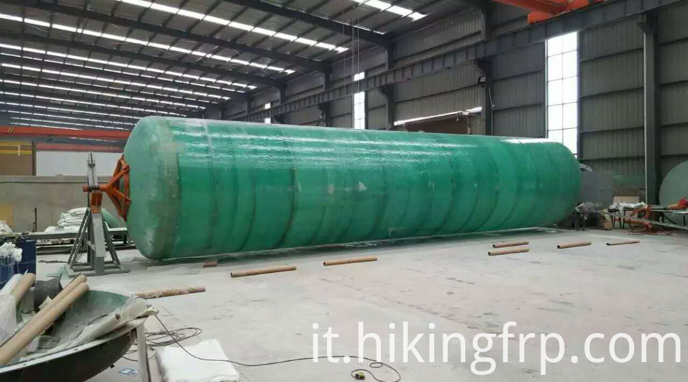 GRP Horizontal Storage Septic Tank