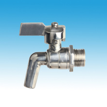 Stainless Steel Polishing Drain Tap