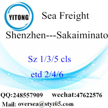 Shenzhen Port LCL Consolidation To Sakaiminato