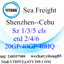 Shenzhen to Cebu Sea Freight Shipping