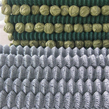 Chain Link Fence Rhombic Wire Mesh