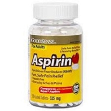 aspirin 325 mg dosage