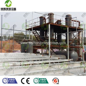 Automatic Waste Plastic to Diesel Plant for sale