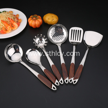 Household Non-Magnetic Stainless Steel Cooking Spoon Shovel
