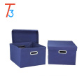 Manufactory Foldable Fabric Storage Box/Organizer boxes 3 pieces/storage box organizer