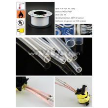 Professional for Fluorescent Lamps Protective Sleeves Electrical Heat Shrink PTFE Tube export to Spain Factory