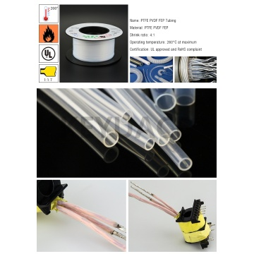 Electrical Heat Shrink PTFE Tube