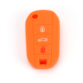 Peugeot 3 Button Silicone Car Key Cover