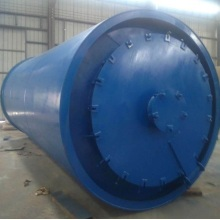 auto feeding waste tyre pyrolysis machine