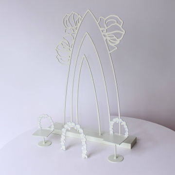 Newest glass acrylic jewelry display counter