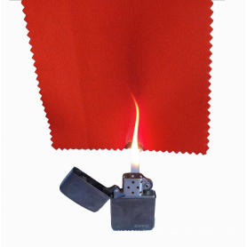 Fire resistant fabric and garments for worker protection