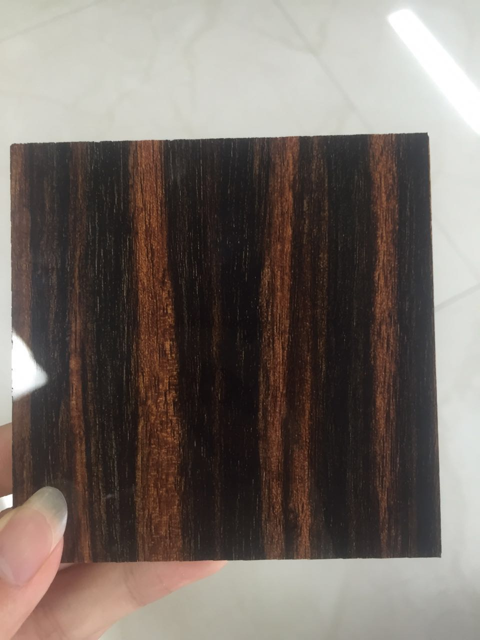 Moisture proof high gloss artificial marble uv board