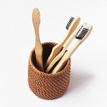 Activated Charcoal 4 Bamboo Toothbrush