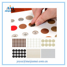 China Supplier for Pvc Adhesive Sticker Fastcaps PVC Fastcaps Screw Cover Sticker/Screw Cap Sticker export to Portugal Suppliers