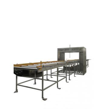 Horizontal packing wrapping machine