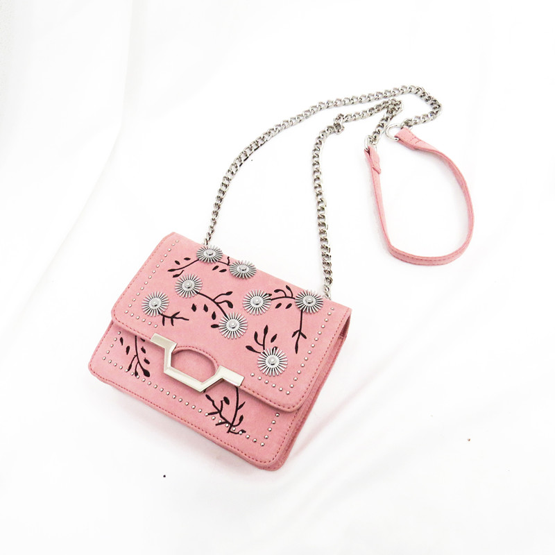Embroidery Shoulder Bag