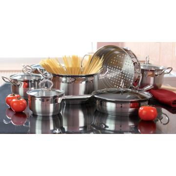 Classic Wire handle 15pcs cookware set 2021