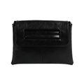 Ladies PU Leather Large Envelope Bags Clutch Bag