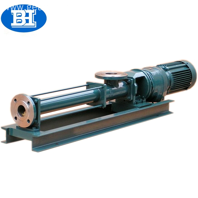 Screw pumps positive displacement screw bilge oil pump