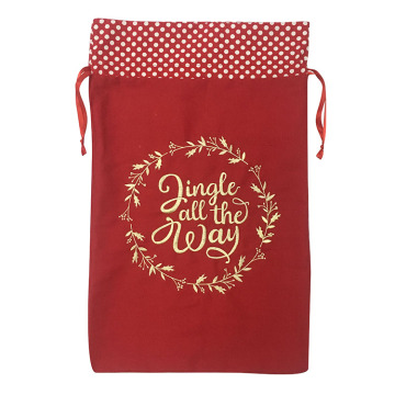 Hot selling attractive for Christmas Sack,Personalised Christmas Sack,Large Christmas Sacks Manufacturer in China Christmas embroidered present sack export to South Korea Manufacturers